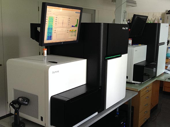 Titleimage: Next Generation Sequencing (NGS) Platform